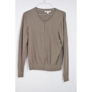 Banana Republic Taupe Cardigan